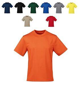 Men 39 S Moisture Wicking Crewneck T Shirt Lt Xlt 2xlt 3xlt