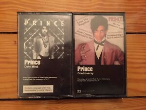 Prince-Dirty-Mind-Controversy-1980-81-Original-Cassettes-VG