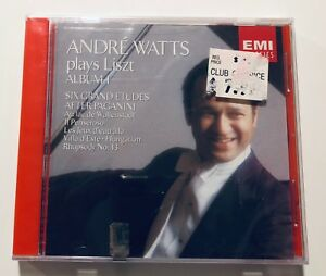 Andre-Watts-Plays-Liszt-Vol-1-CD-1986-BRAND-NEW-STILL-SEALED-RARE-GIFT
