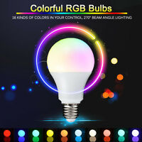 3W/5W/10W E27 16 Color Changing RGB LED Light Bulb+IR Remote Control Party Decor