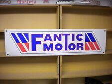 Fantic Motor workshop  garage banner, 50, 125, 200, 246, caballero etc