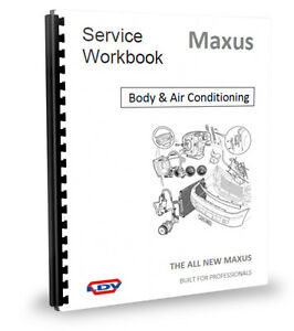 ldv maxus central locking air conditioning body fittings workshop rh ebay com ldv maxus repair manual pdf ldv maxus service manual pdf