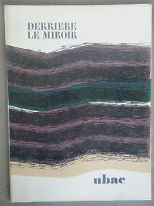Derriere-le-Miroir-UBAC-N-196-1972-2-LITHOGRAPHIES-ORIGINALES