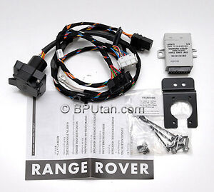 genuine 06 09 range rover trailer tow hitch wiring harness rh ebay com Range Rover Trailer Hitch range rover sport trailer hitch wiring