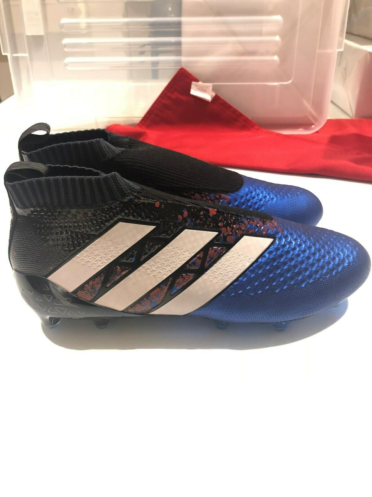 Adidas botas ACE16+ purecontrol Paris, Edición Limitada 500 Nuevo Y En Caja, FG Raro 10.5US