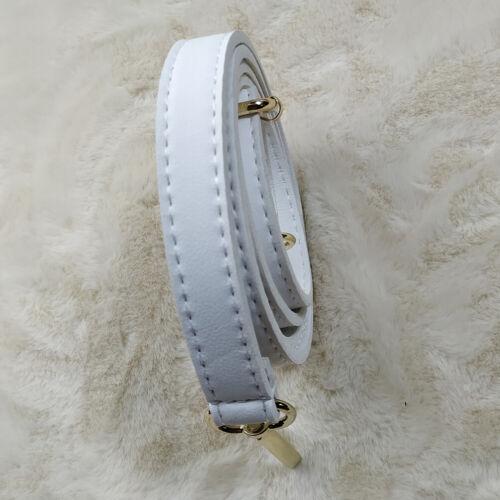 Adjustable Bag Strap Shoulder Replacement Handbag Cross Body 123cm PU Leather