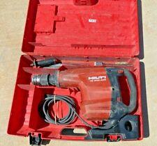 Hilti Te 800 Avr Hi Drive Demolition Hammer Breaker Combo Amp Nice With Case