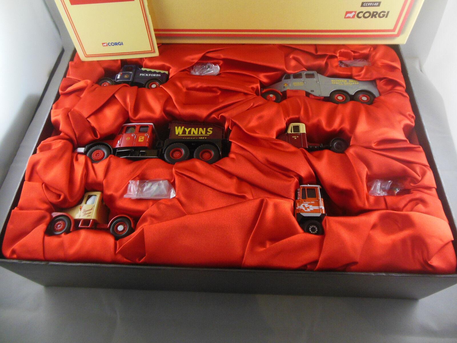 CORGI CC99140 the SCAMMEL histoire ENSEMBLE EAU 6 Die-Cast Models est LTD ED 1500