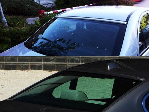 Painted Black Rear Window Roof Spoiler for Audi A6 C5 sedan 1997-2004