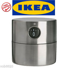 IKEA ORDNING STAINLESS STEEL KITCHEN TIMER - EGG - BAKING - BBQ -- Get it Fast!!