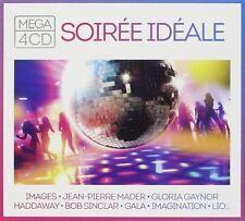 CD NEUF scellé - MEGA SOIREE IDEALE / Digipack 4 CD - 80 Titres -C32