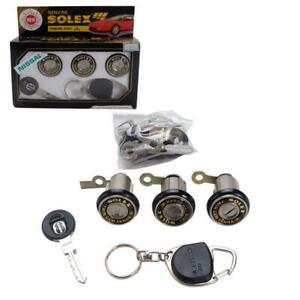 Fit 95-00 HONDA CIVIC EK EJ EM Solex Door Lock Security Safety Key Cylinder Set