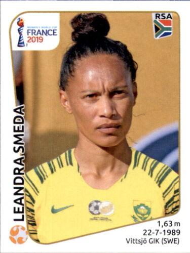 Südafrika Panini Frauen WM 2019 Sticker 167 Leandra Smeda