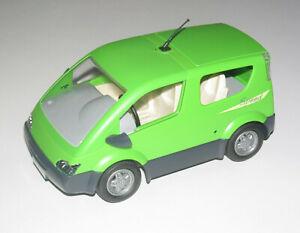 Playmobil-Accessoire-Decor-Voiture-Monospace-Familliale-Vert-avec-Attelage-NEW