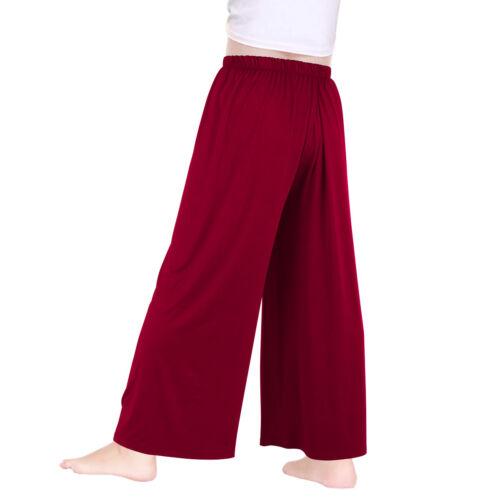 Women Palazzo Pants Wide Leg Loose Costume for Praise Liturgical Church Dance