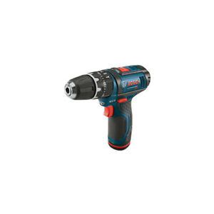 """Bosch 12V Max 3/8"""" Compact Hammer Drill Kit PS130-2A Certified Refurbished"""