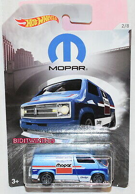 2018 Hot Wheels Mopar Custom '77 Dodge Van 2//8