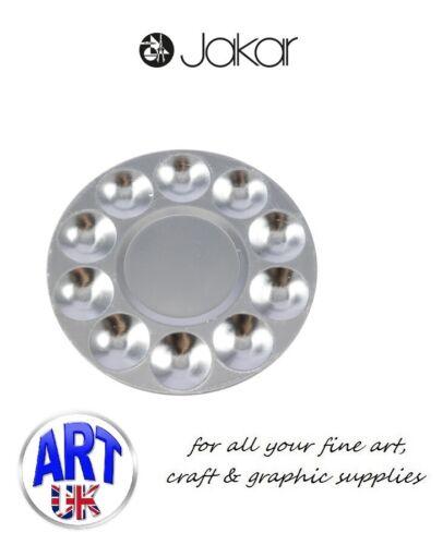Aluminium Round 6615 Jakar Artists Paint Palette for Water Oil Acrylic colour