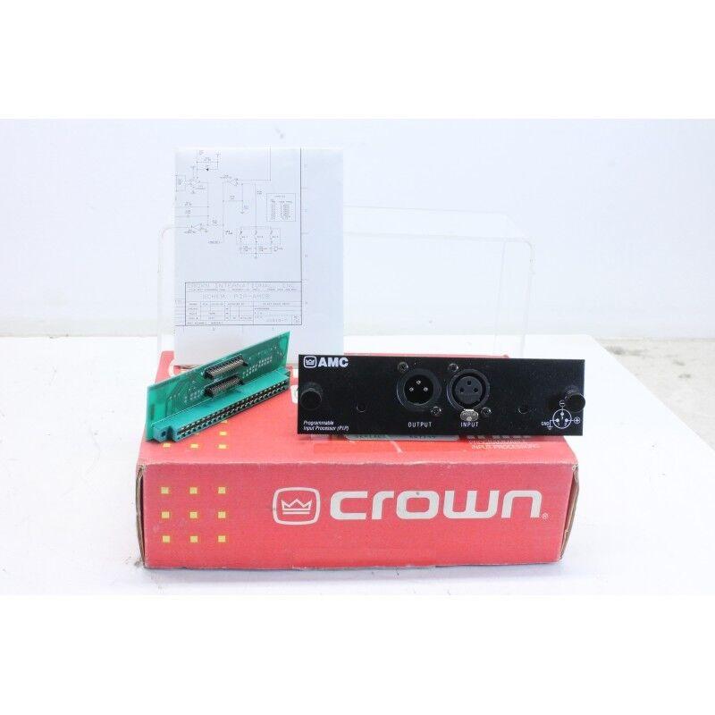 Crown pip AMCb Programmable Crotver,Equalizer&Compressor - No.2
