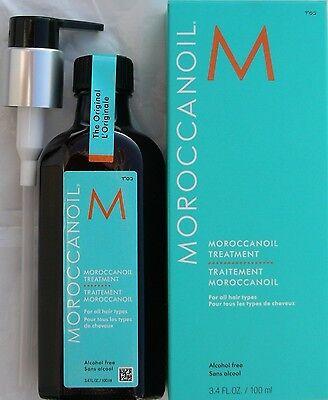 GENUINE MOROCCAN OIL HAIR TREATMENT 100ML / 3.4OZ Nib