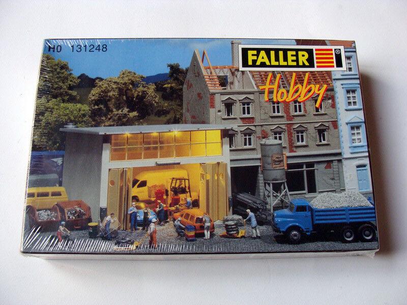 Faller 131248 ho h0 reparatur montagehal, hall, montagehal, reparatur reparaturhalle, neue auflagen nueue 57c608