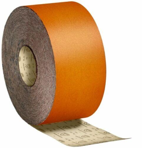 Klingspor-papier abrasif 115 mm x 50mtr rôle bois//Spatule//Vernis//Couleur Sélection