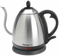 Bonavita Stainless 1 L Electric Kettle Pot Hot Water Tea Pot Boil Quick Kitchen on Sale