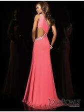$398 NWT CORAL TONY BOWLS LE GALA PROM/PAGEANT/FORMAL DRESS/GOWN #114517 SIZE 6