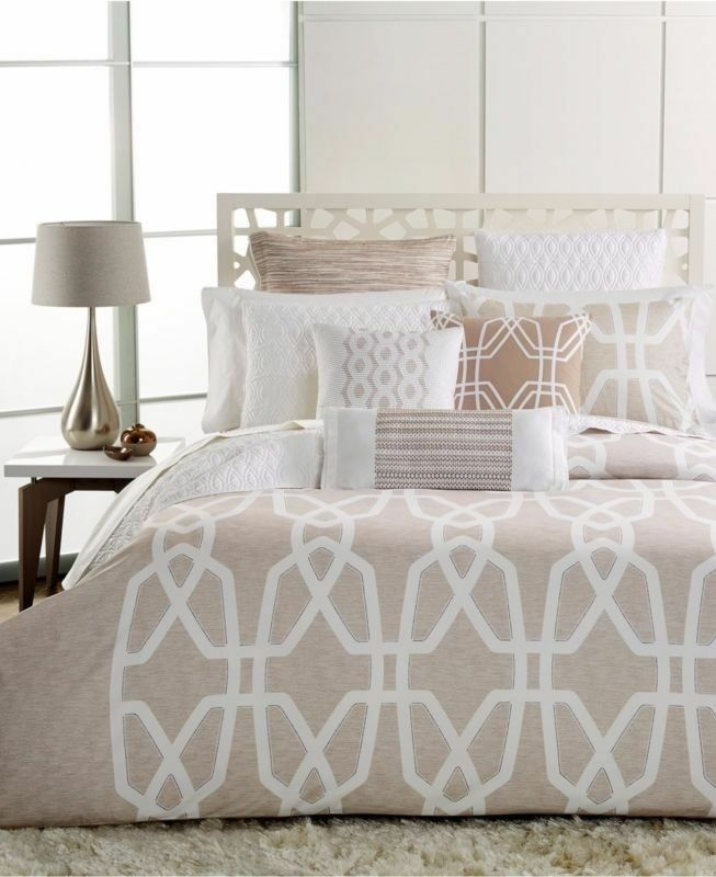 Brand New Hotel Collection - Marquetry KING Duvet Cover  Taupe  -  310