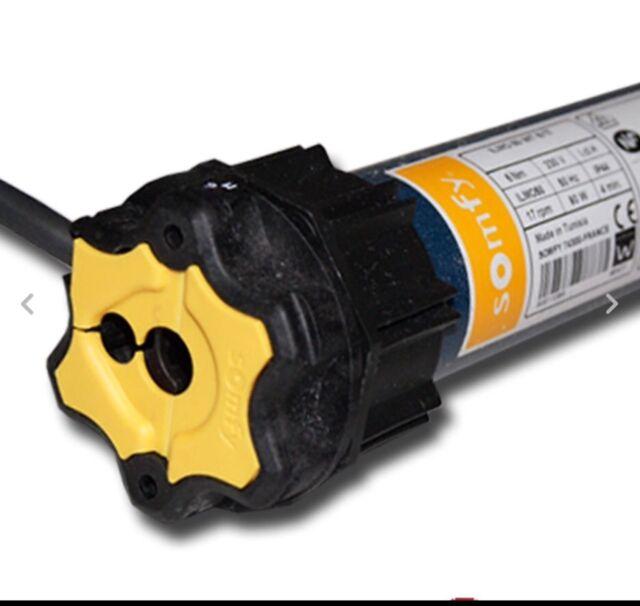 Rollladenmotor Somfy Oximo 50 WT 10 //17 Rolladen Motor Rohrmotor Rollladen