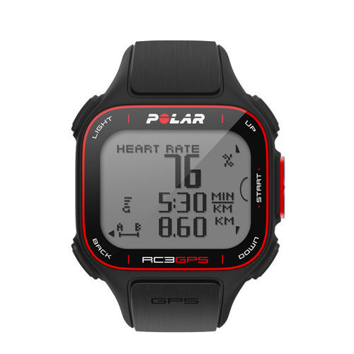 Polar rc3 GPS con misurazione altezza, training computer, ruotalaufuhr, triathlon