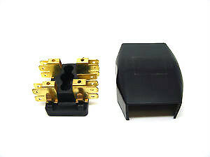 CLASSIC MINI FUSE BOX 2 LINE 1959-76 606253A ROVER AUSTIN GLASS COOPER BMC 4H2