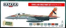 Hataka Hobby Paints ISRAELI AIR FORCE MODERN JETS Acrylic Paint Set