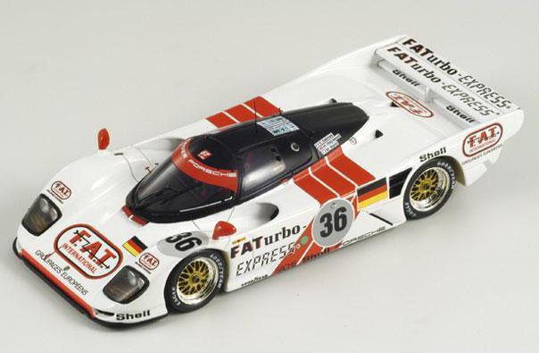 SPARK Dauer 962  36 Winner Le Mans 1994 Baldi –  Dalmas - Haywood 43LM94 1 43