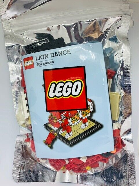 Lego 2019 Lion Dance Asia Exclusive U.S seller Free Shipping