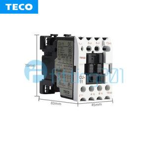 CU-11  CU 11 3A1a 220VAC New TECO AC Contactor New In Box free shipping