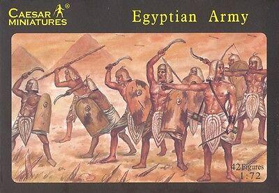 Behendig Caesar Miniatures - Egyptian Army - 1:72 Knappe Verschijning