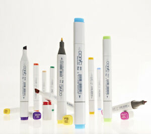 Refillable With Copic Various Inks Copic Ciao Markers Green Shades
