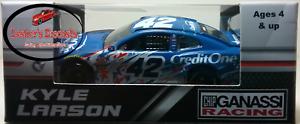 Kyle Larson 2018 #42 Credit One Patritoic Raced Version ZL1 Camaro 1:64 ARC