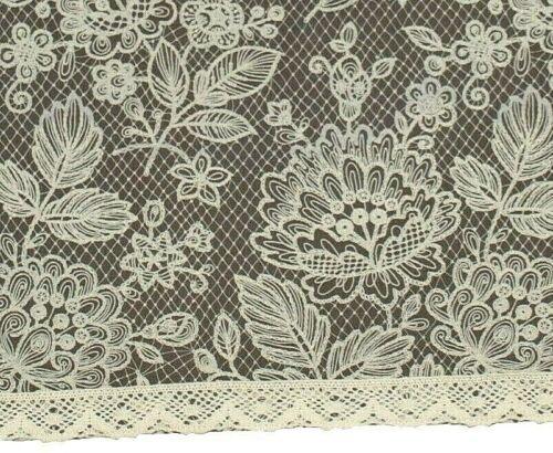 """Tischläufer /""""Grey Lace/"""" Angelica Home /& Country 44 x 160 cm Baumwolle"""