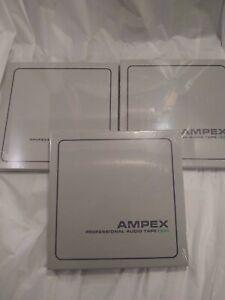 Ampex-631-Professional-Reel-to-Reel-Audio-Tape-1-4-034-x-1200-039-on-7-034-reel-3-lot
