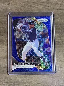 Randy Arozarena Rookie - 2020 Panini Prizm Blue Mojo SP #d /175 Tampa Bay Rays
