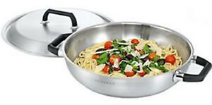 SCANPAN-MATRIX-32CM-CHEF-PAN-WITH-LID-INDUCTION-CAPABLE-RRP-179