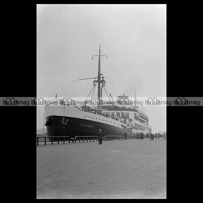 #php.01843 Photo Ms Colombia Knsm Cruise 1934 Paquebot Ocean Liner