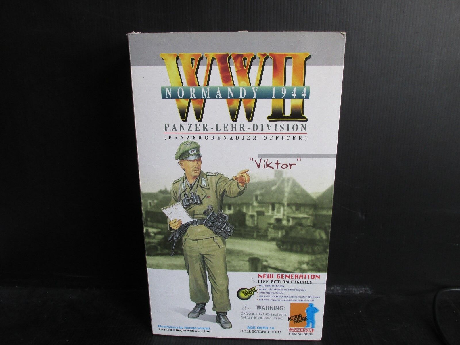 Dragon Side show 1 6TH scale figures   GERMAN PANZER-LEHR DIVISION  VIKTOR