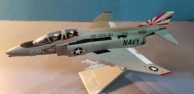 """CORGI (AA33201) F-4N PHANTOM II """"SUNDOWNERS"""" 1:72ND SCALE DIECAST METAL MODEL"""