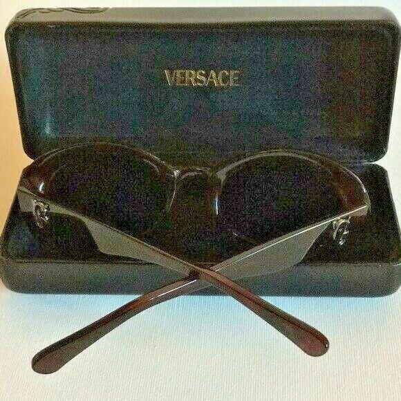GIANNI VERSACE Vintage Sunglasses In Original Case - image 7