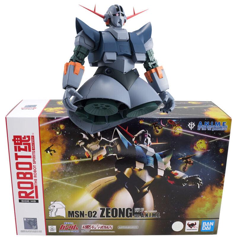 Beai Tamashii Limited Robot Spirits Soul SP MSN-02 Zeong  ver. A.N.I.M.E.  consegna e reso gratuiti
