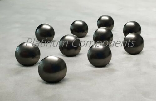 PINS TACKS STUDS 50 x NEW MATT BLACK DECORATIVE UPHOLSTERY BUTTONS NAILS