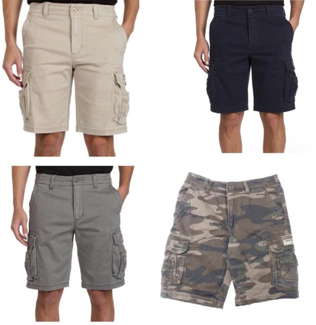 Unionbay Mens Quest Cargo Shorts Size 32 Color Grain Ebay